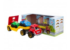 Автовоз з набором машинок  ТехноК 3909 (4)