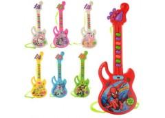 Гітара FR, 29см, муз. 7 видів (FR, DPS, HK, СБ, СП,Б10), на бат. в кул. 11*30*2с...