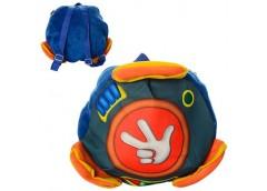 Рюкзак дитячий 27*27*6см. 1 від. застіб. блискавка, 1 вн. карман. 27*27*3см. MP ...